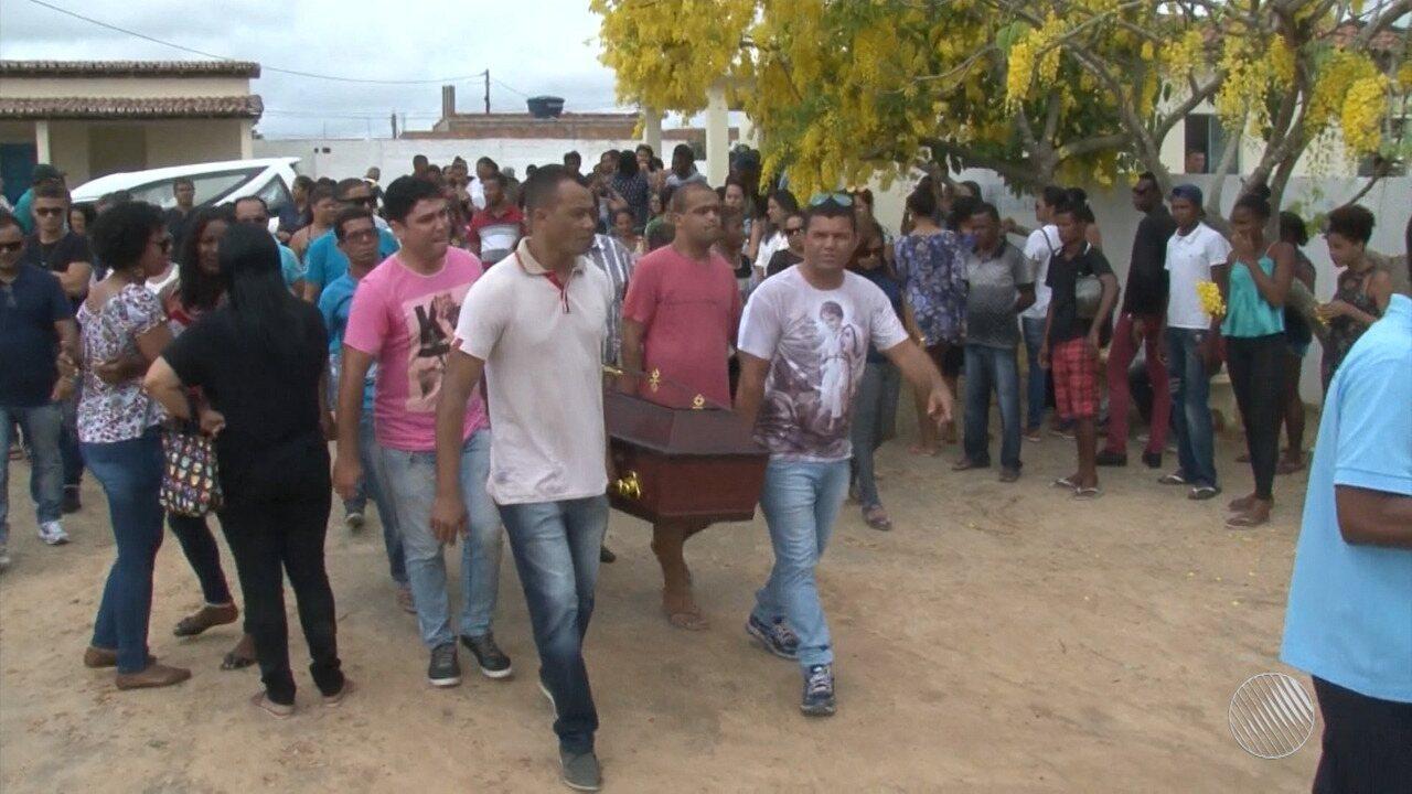 Mulher foi morta pelo marido um dia antes de dar à luz na cidade de Serrinha, na Bahia.