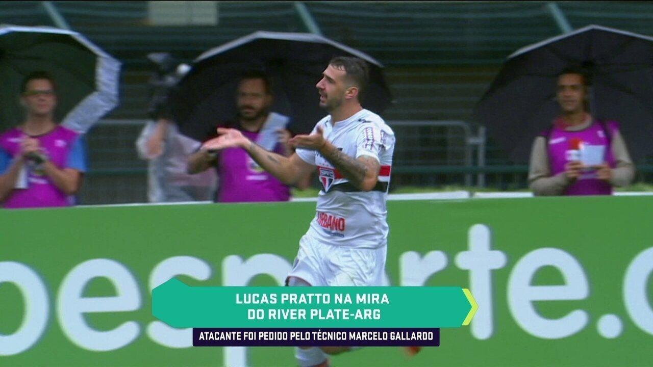 River Plate vai oferecer 10 milhões de doláres por Lucas Pratto