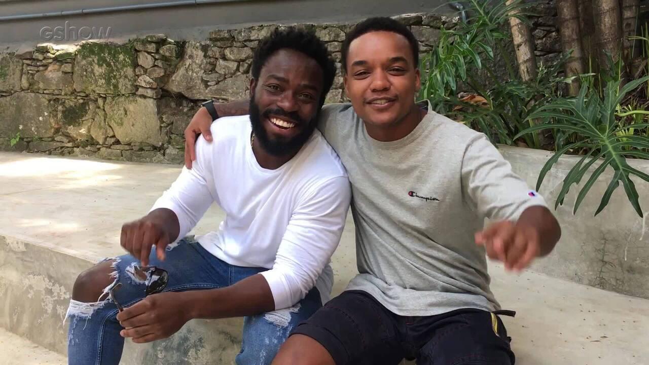 Darlan Cunha e Douglas Silva falam sobre a amizade entre os dois