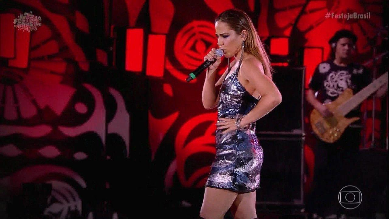Wanessa Camargo canta 'Coração Embriagado'