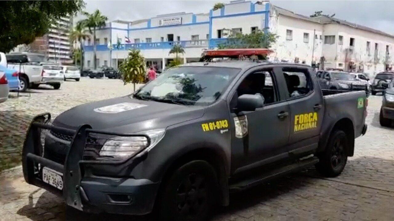 Força Nacional sai às ruas para reforçar patrulhamento em Natal