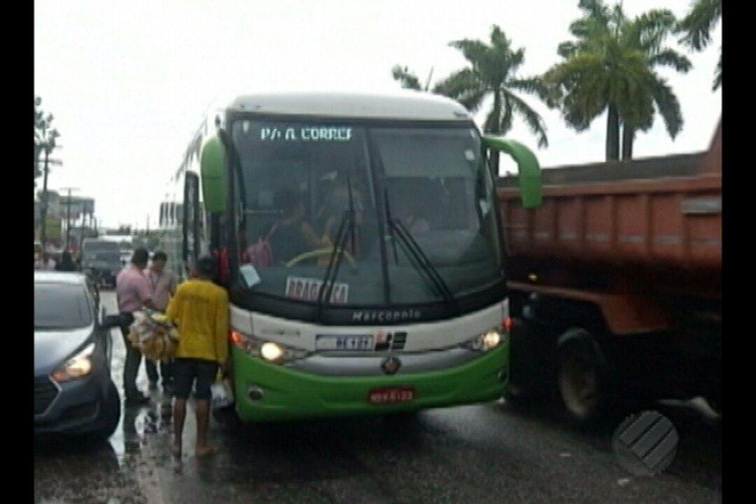 Terminal Rodoviário de Ananindeua deixa passageiros em risco e teve obras adiadas