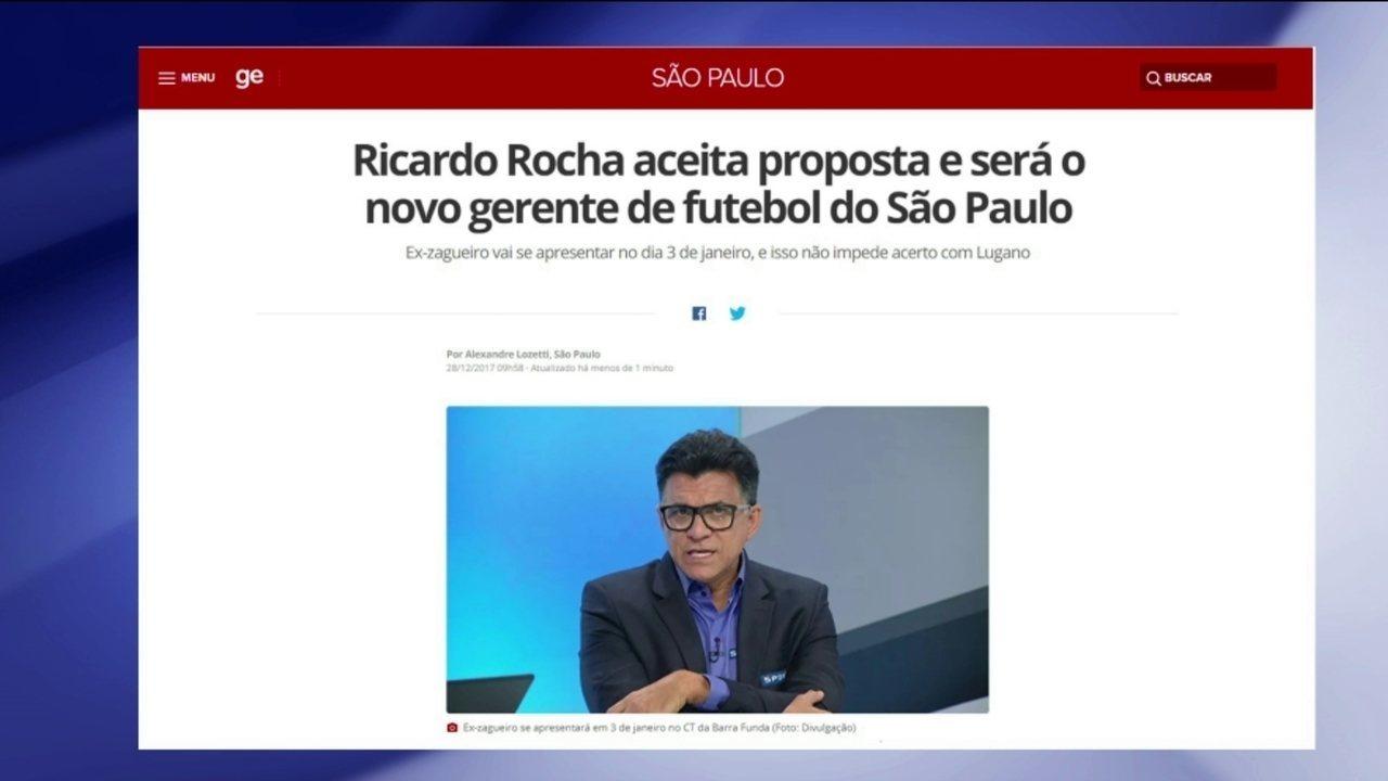 Ricardo Rocha está de volta