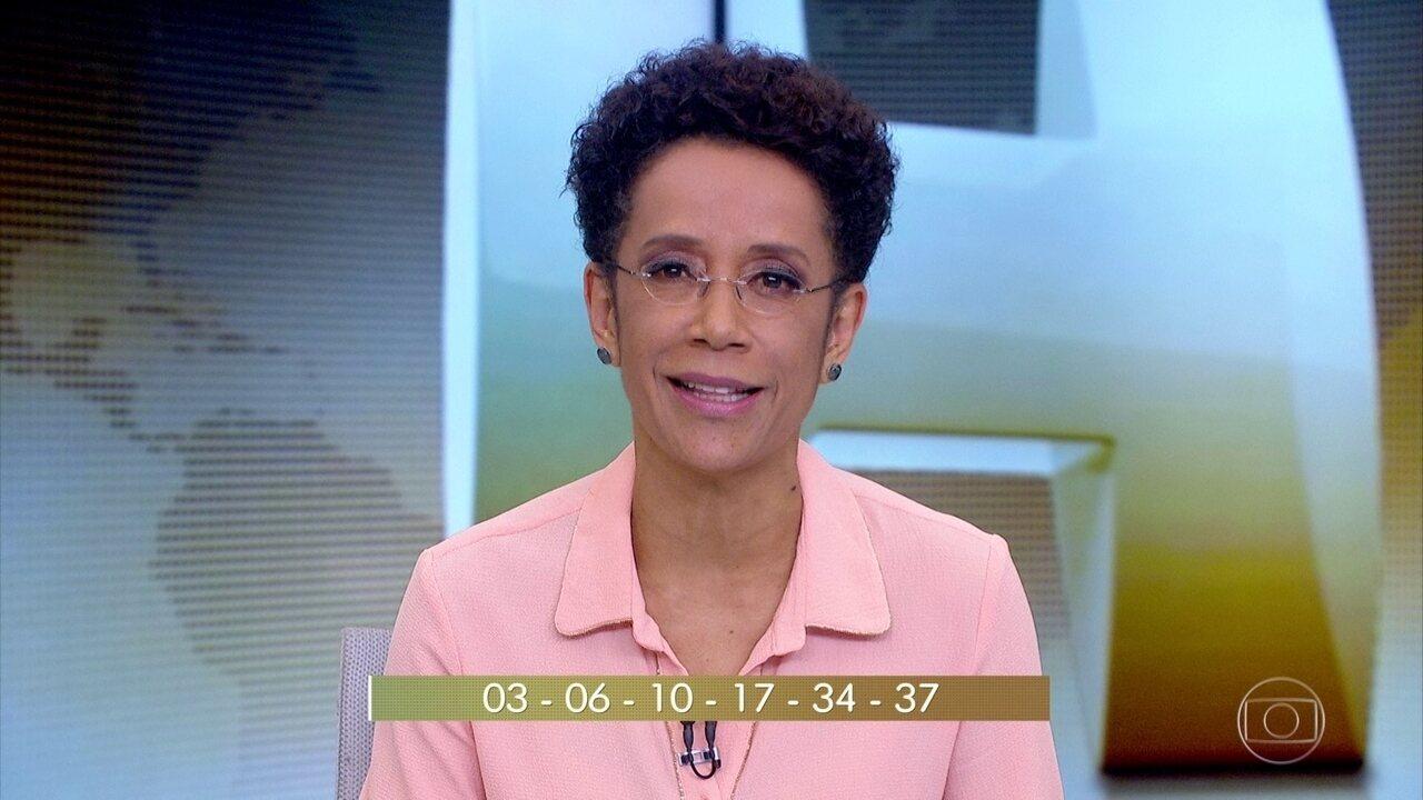 Dezessete apostas dividem o maior prêmio da história da Mega da Virada
