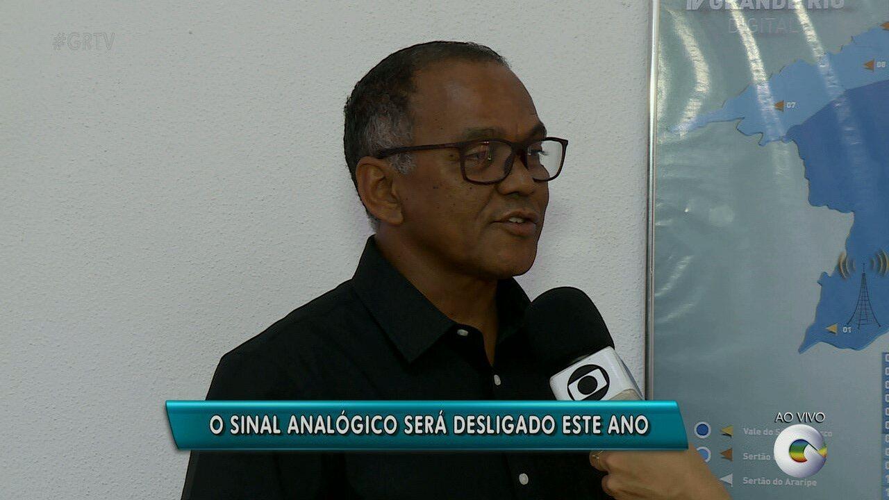 Sinal Analógico da TV Grande Rio será desligado em 2018