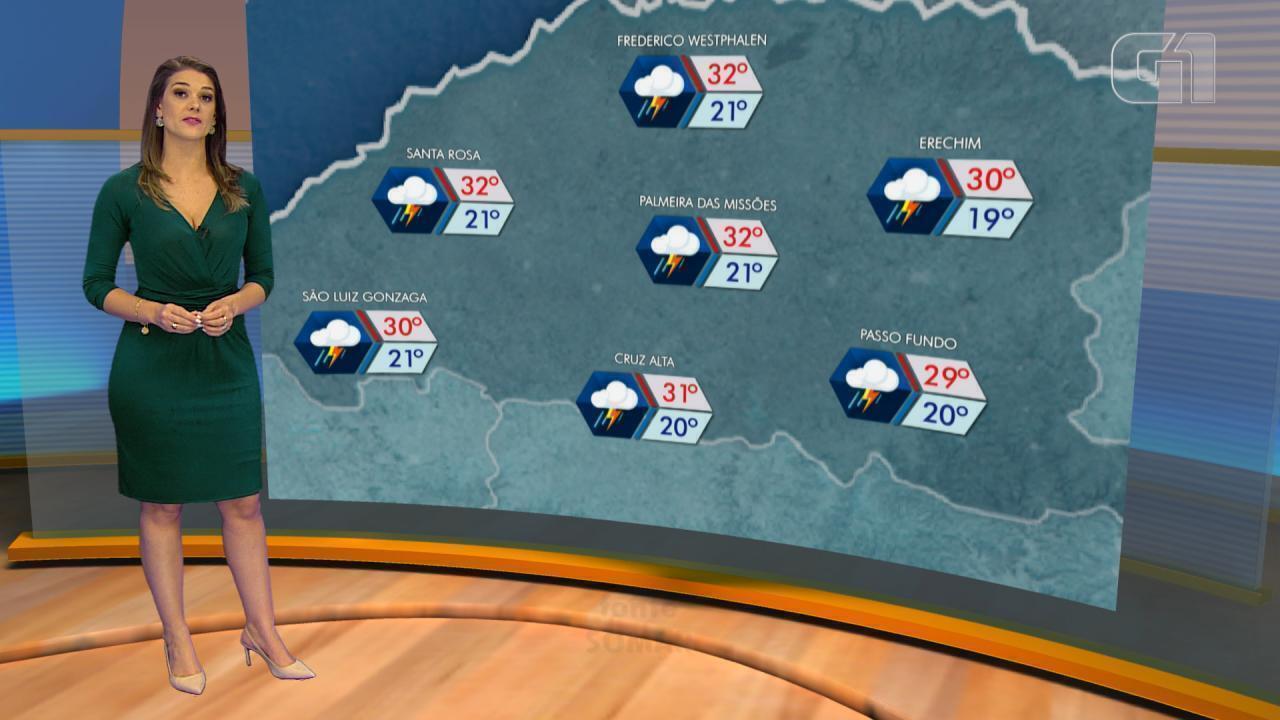Tempo: terça-feira (2) será de chuva no RS