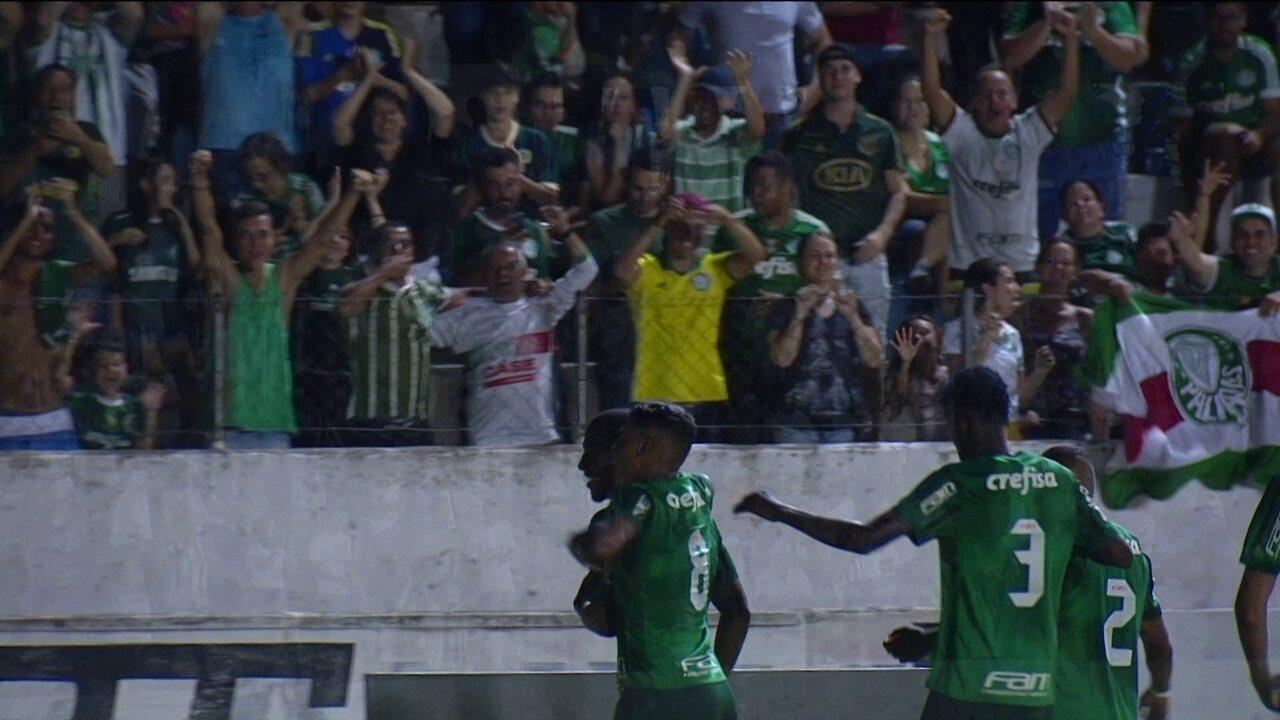 Os gols de Palmeiras 3 x 0 Luverdense pela 1ª rodada da Copa São Paulo de Futebol Júnior