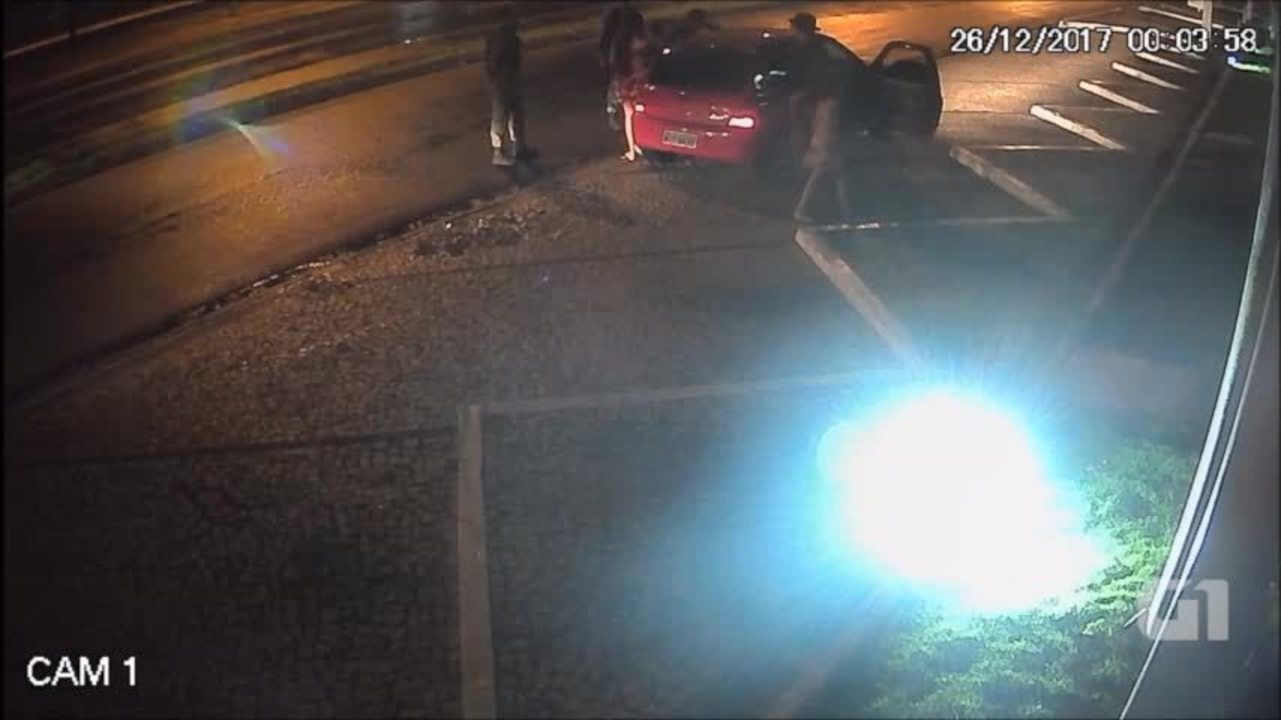 Câmeras mostram abordagem que terminou em morte de Emile Caetano