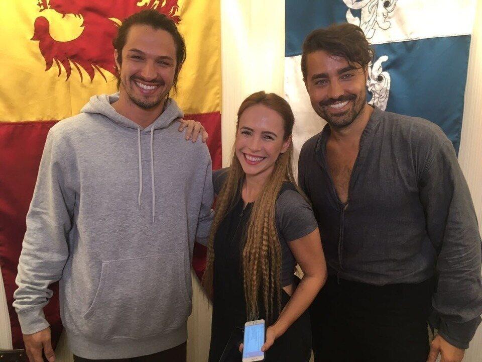 Live DSR: Ricardo Pereira, Rômulo Estrela e Fernanda Nobre