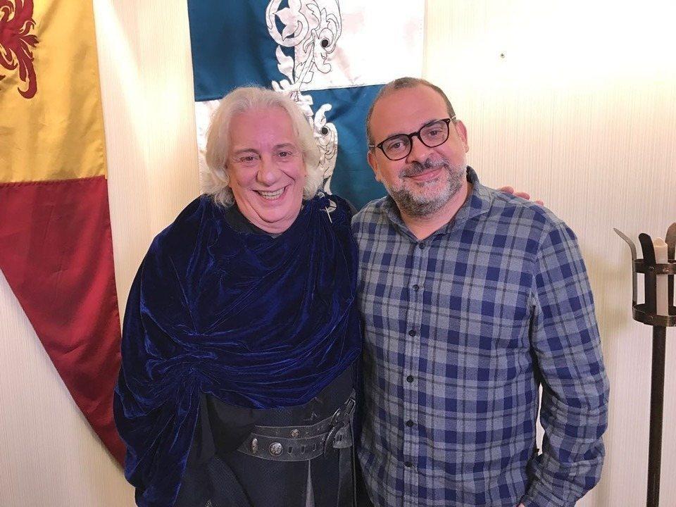 Live DSR: Fabricio Mamberti e Marco Nanini conversam com fãs