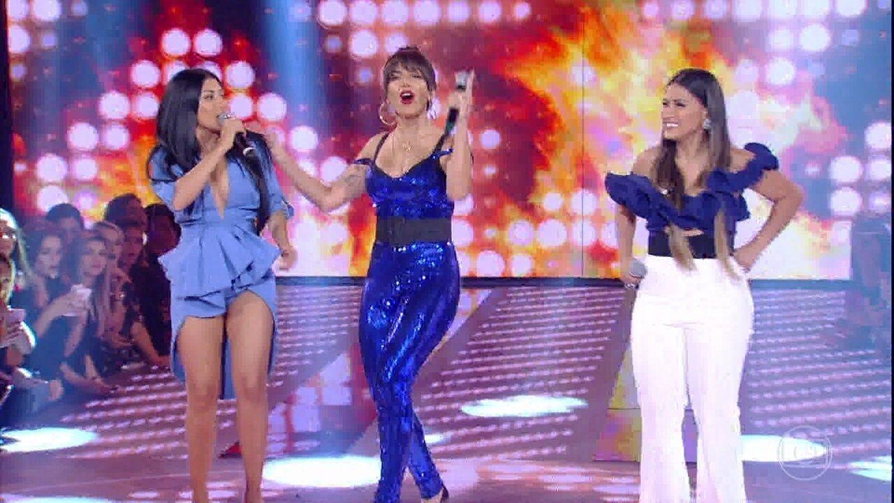 Simone e Simaria e Anitta cantam 'Loka'