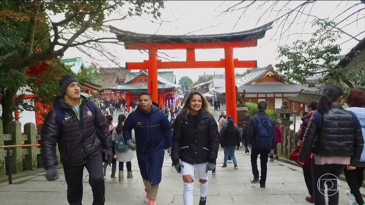 Vencedores do reality Ippon visitam o Japão, a terra onde nasceu o judô