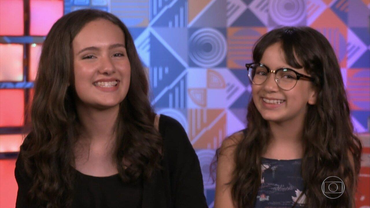 Perfil Maria Clara e Mariana