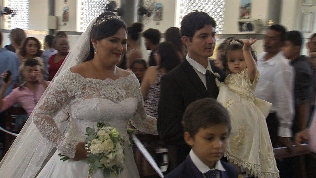 Rede de solidariedade consegue casamento de 10 casais de baixa renda em Fortaleza