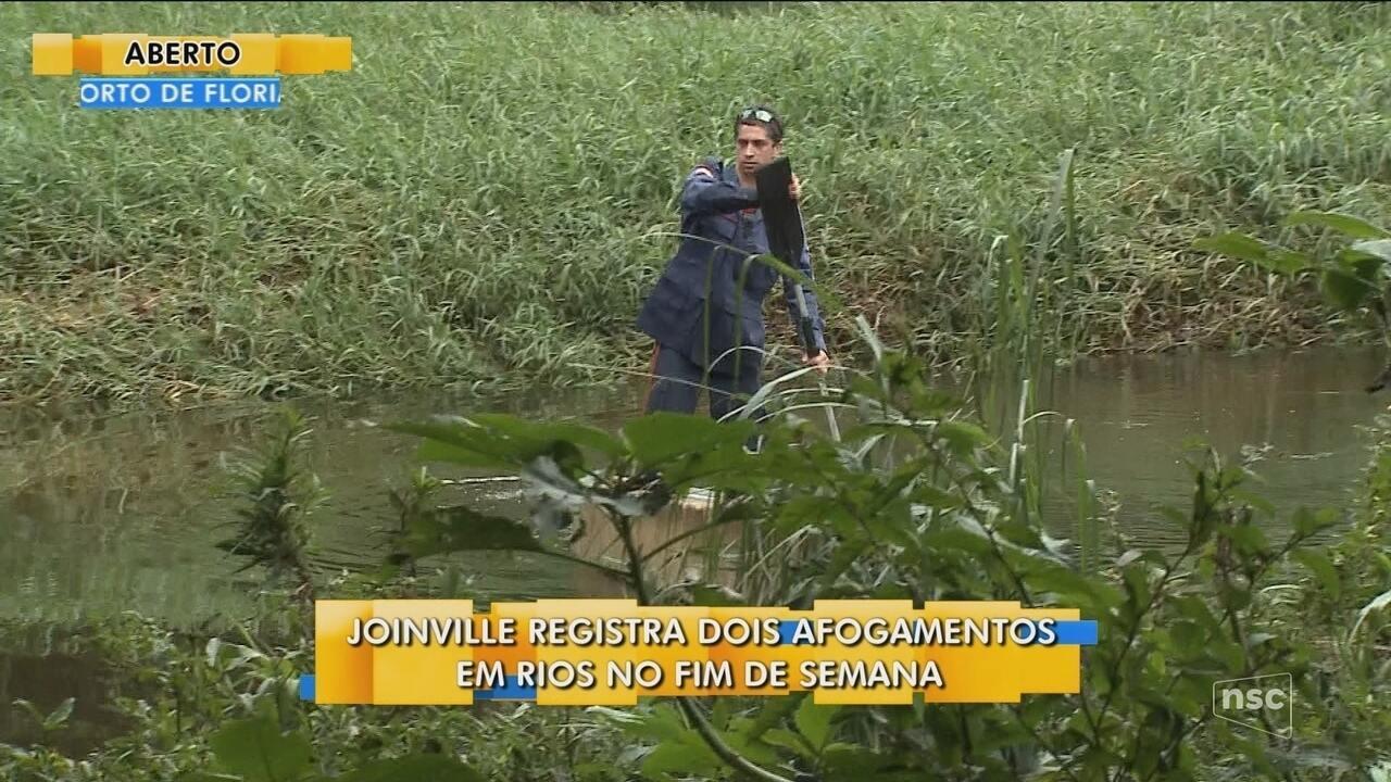 Joinville registra dois afogamentos durante o fim de semana