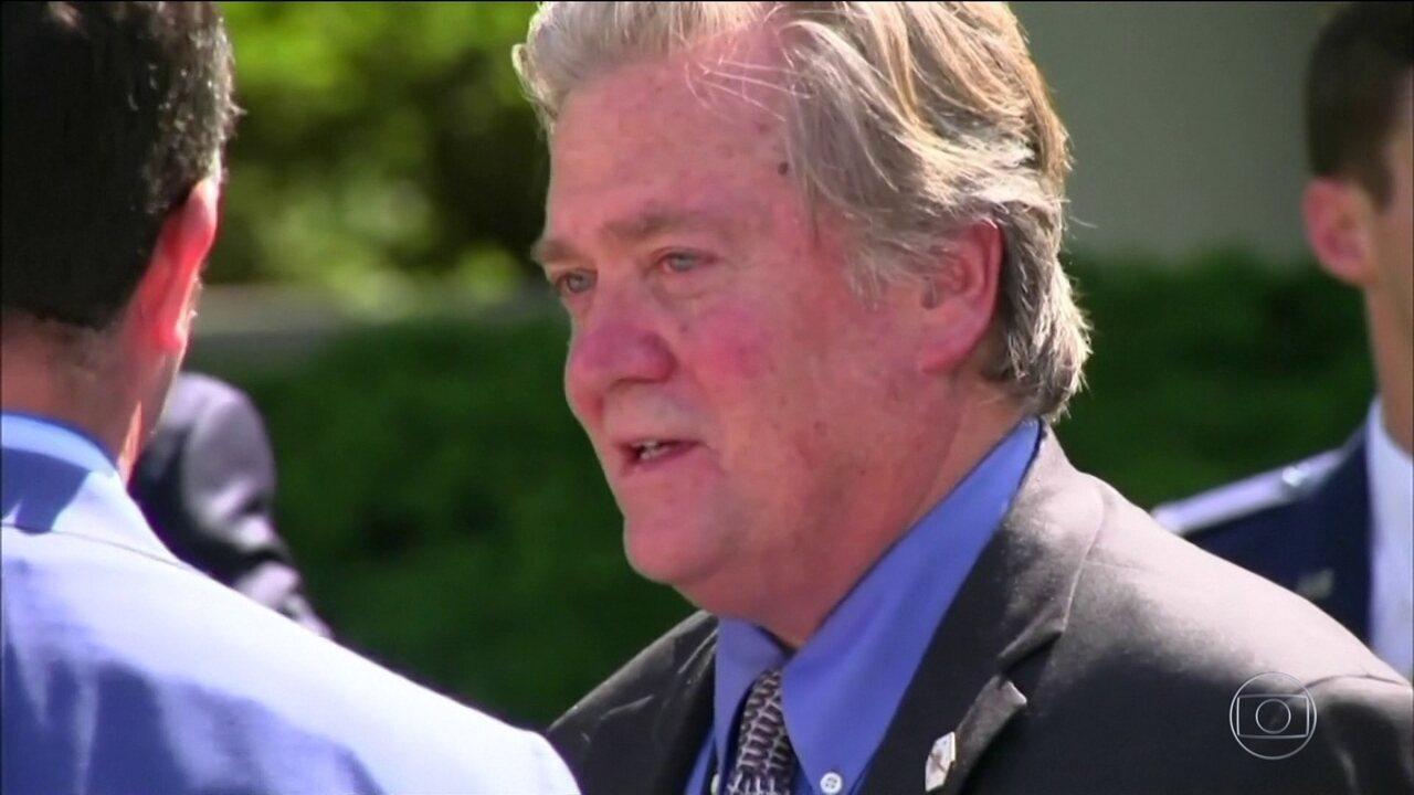 Ex-assessor de Trump nega críticas ao filho do presidente