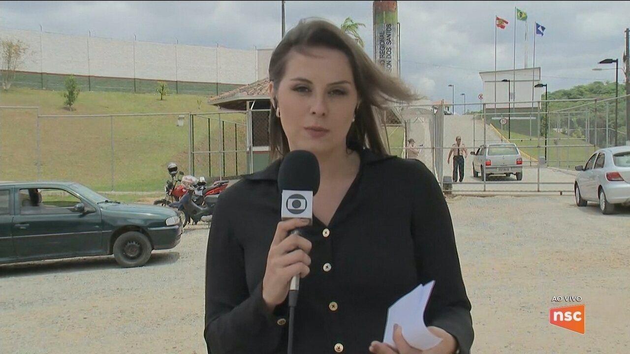 Dois detentos são mortos no Presídio Regional de Joinville