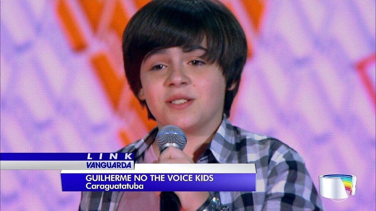 Guilherme passou na fase de audições do The Voice Kids