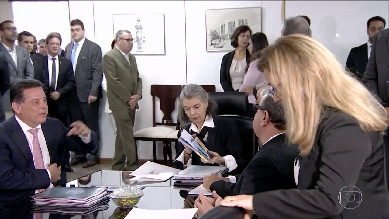 Cármen Lúcia pede que nova reunião com autoridades de Goiás seja realizada em 30 dias