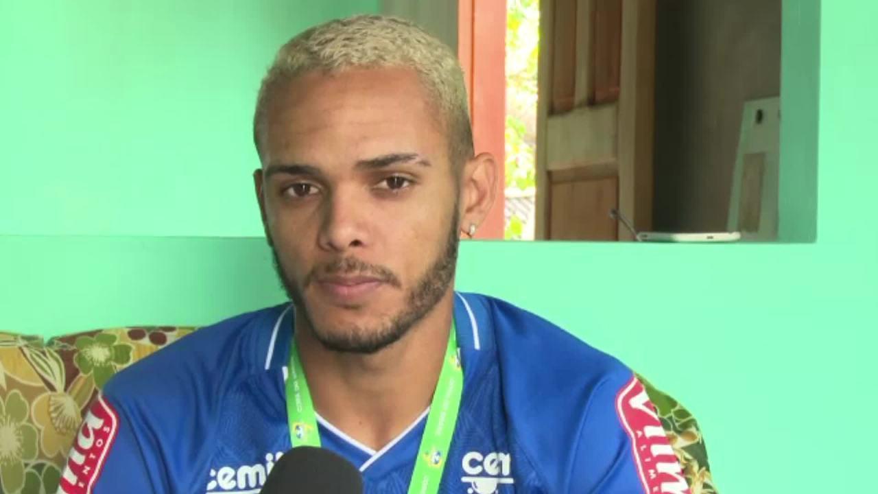 Emprestado ao Cruzeiro, Careca lembra dificuldades do início da carreira no Acre