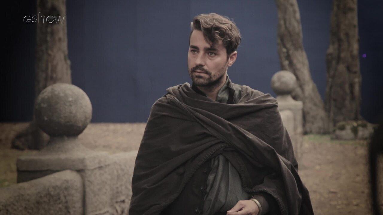 Confira os bastidores da briga entre Virgílio e Afonso em 'Deus Salve o Rei'
