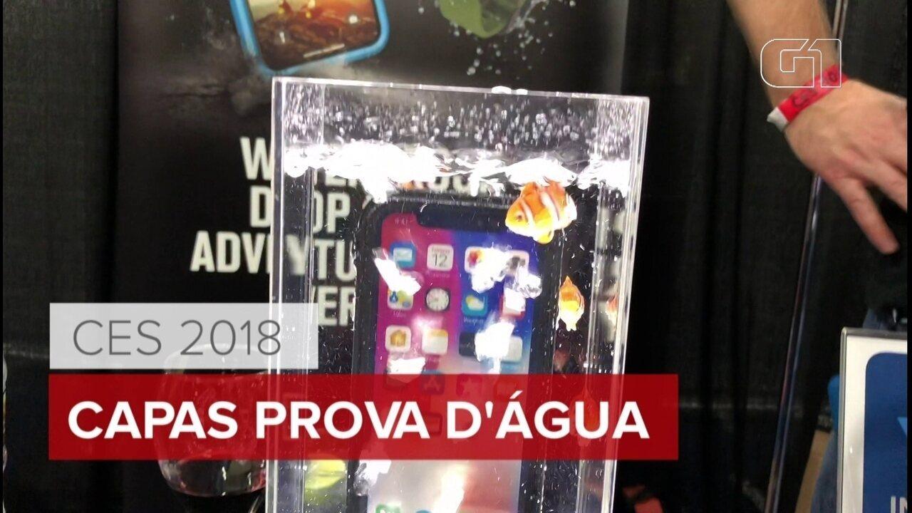 CES 2018: empresa cria capinhas que tornam gadgets à prova d'água
