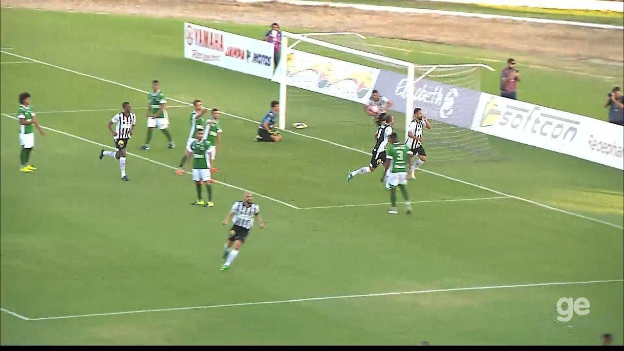 Nando marca duas vezes na vitória do Botafogo-PB sobre o Serrano-PB