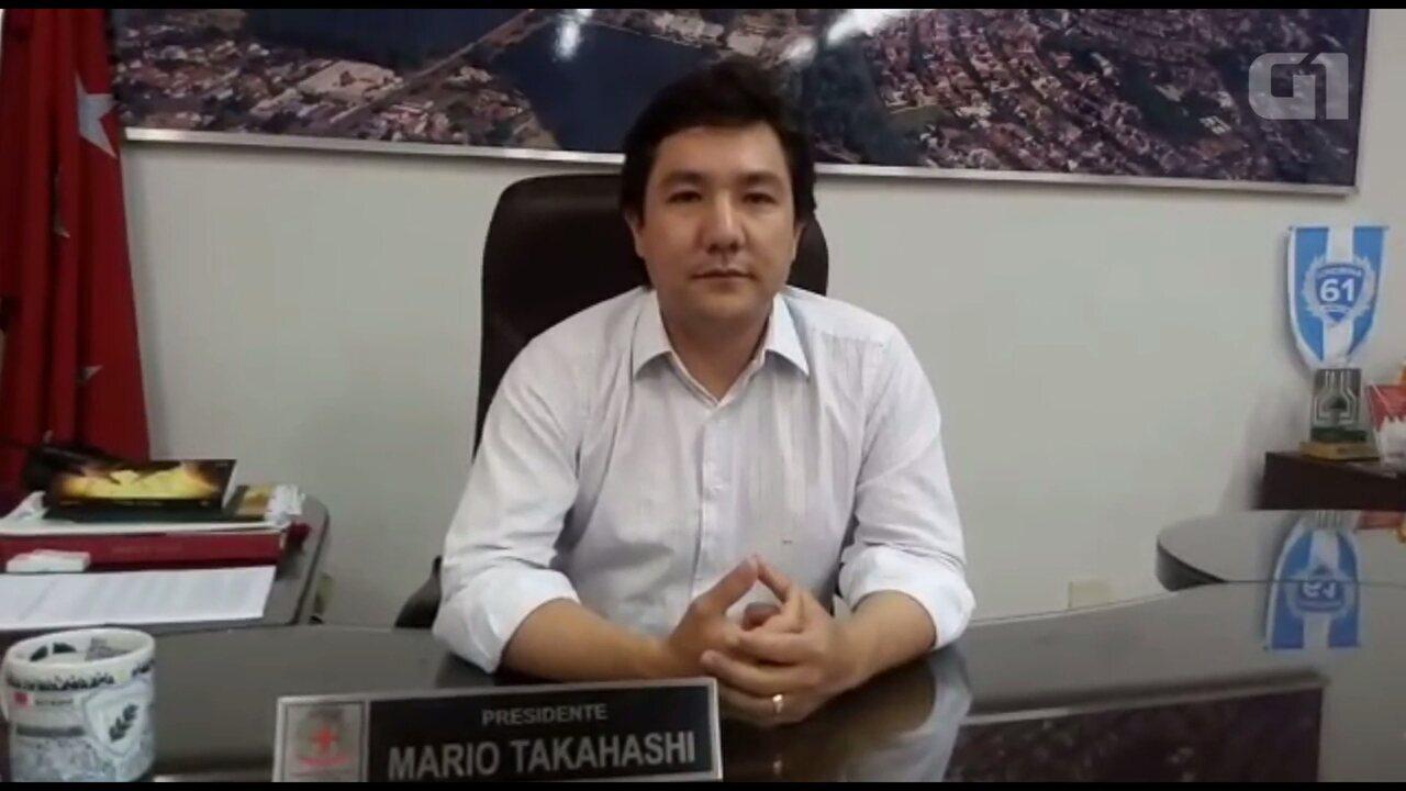 Assista à entrevista do presidente da Câmara de Londrina, o vereador Mário Takahashi