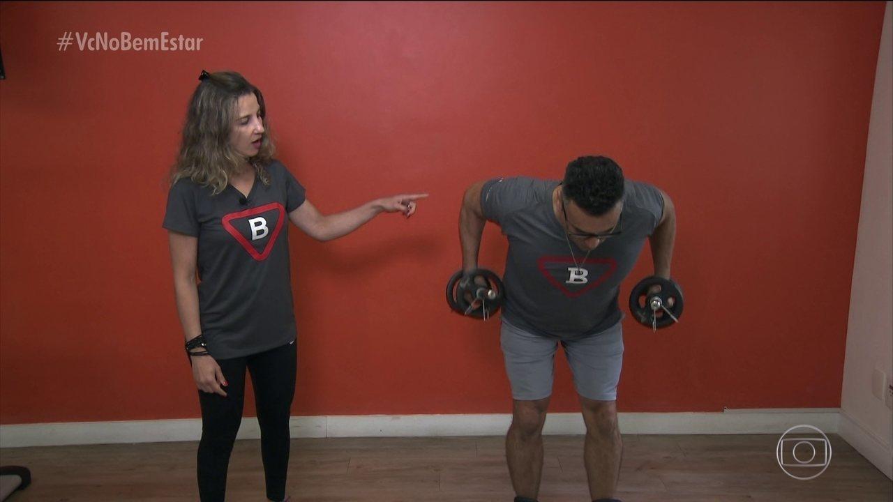 Exercícios dão força muscular e mais disposição