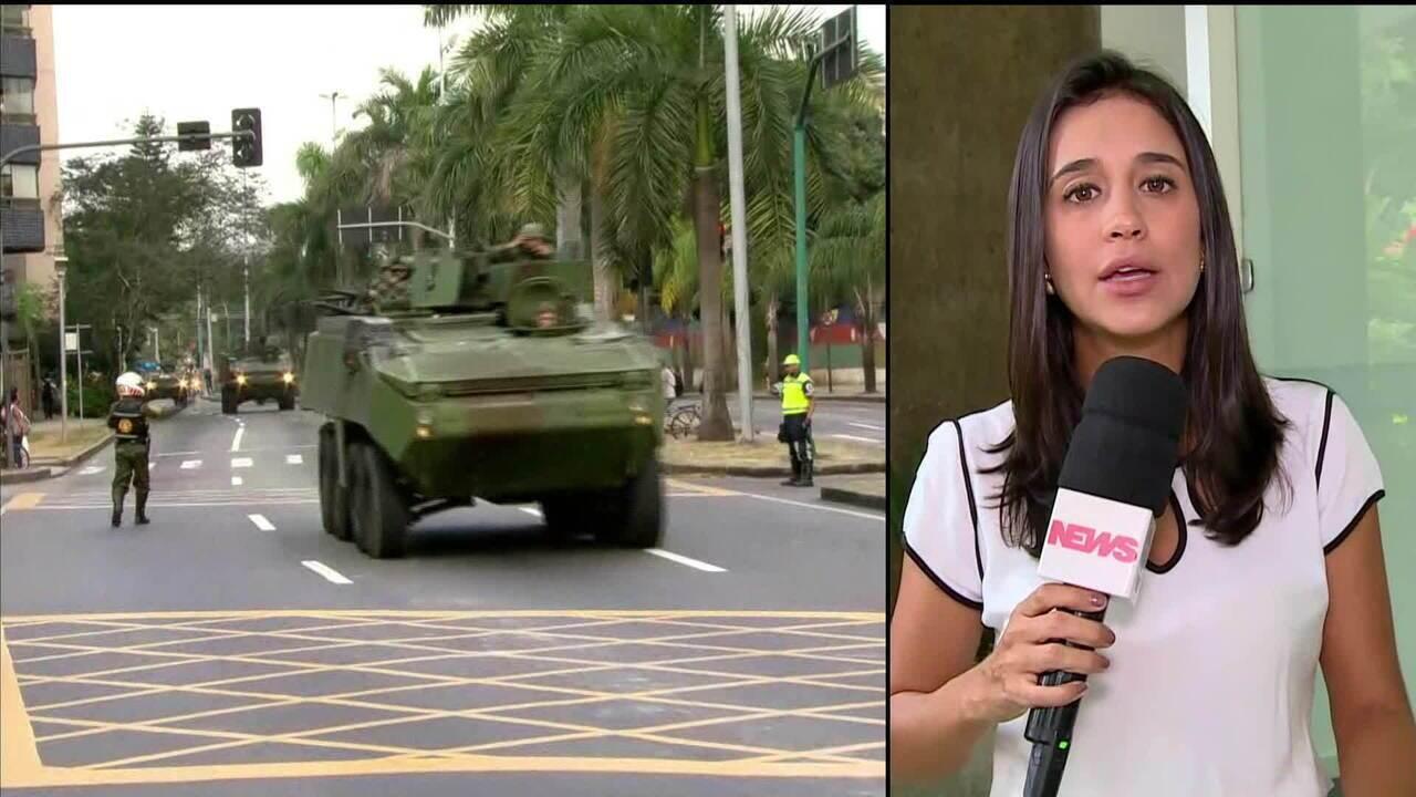 Governos federal e estadual decidem sobre segurança no Rio de Janeiro