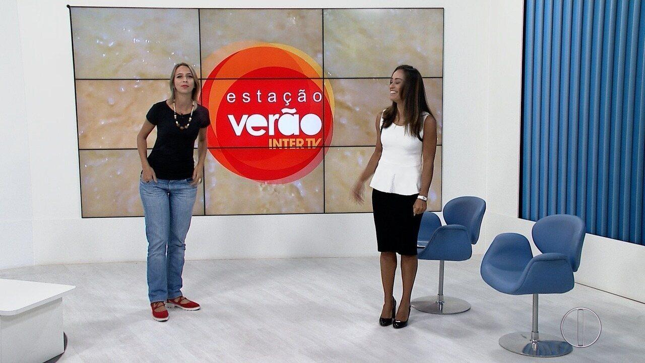 Projeto 'Estação Verão' anima moradores e turistas e até a nossa repórter, Renata Igreja