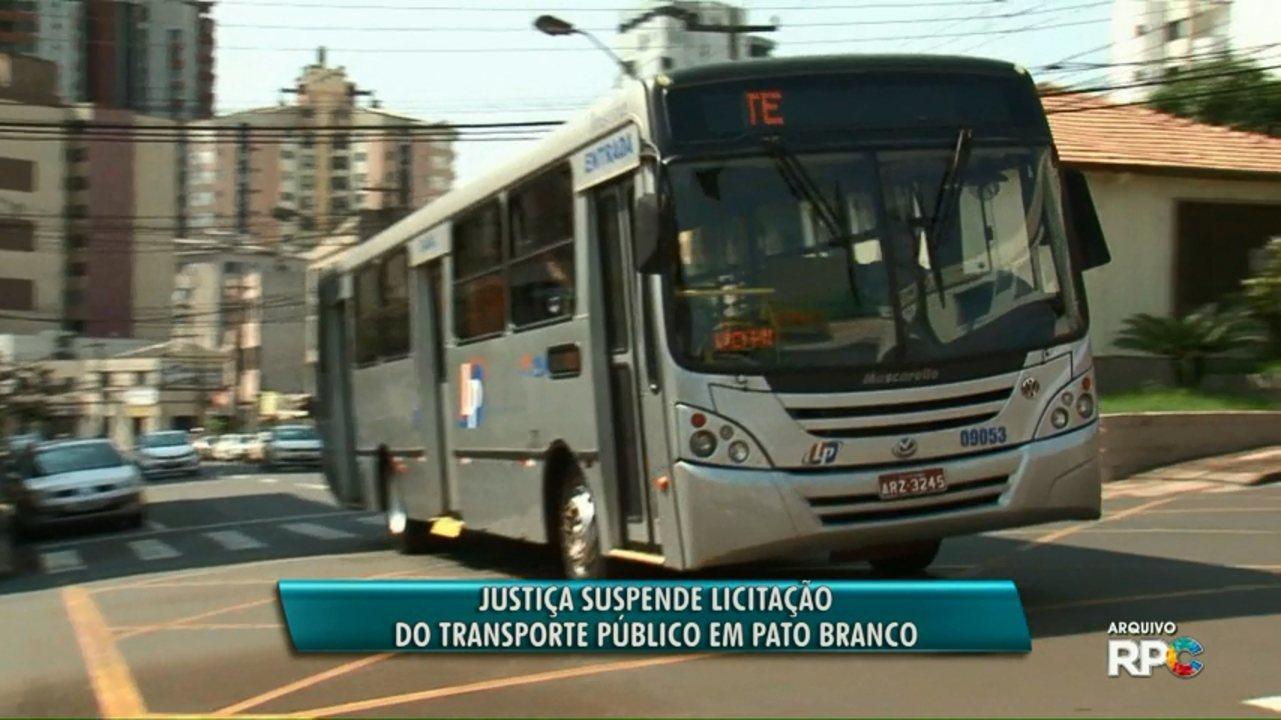 Suspensa a licitação do transporte público de Pato Branco