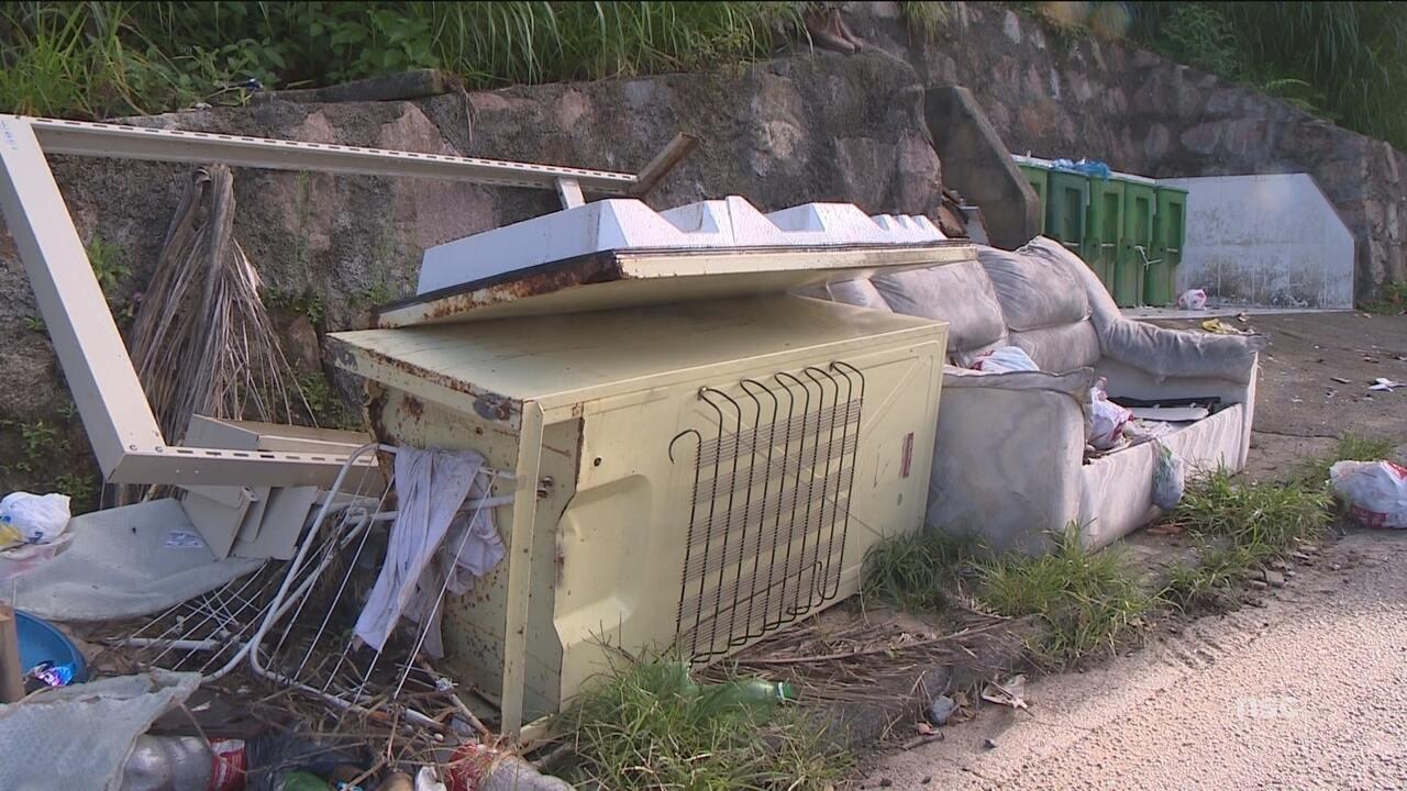 Prefeitura de Florianópolis recolhe entulhos e orienta sobre descarte de resíduos