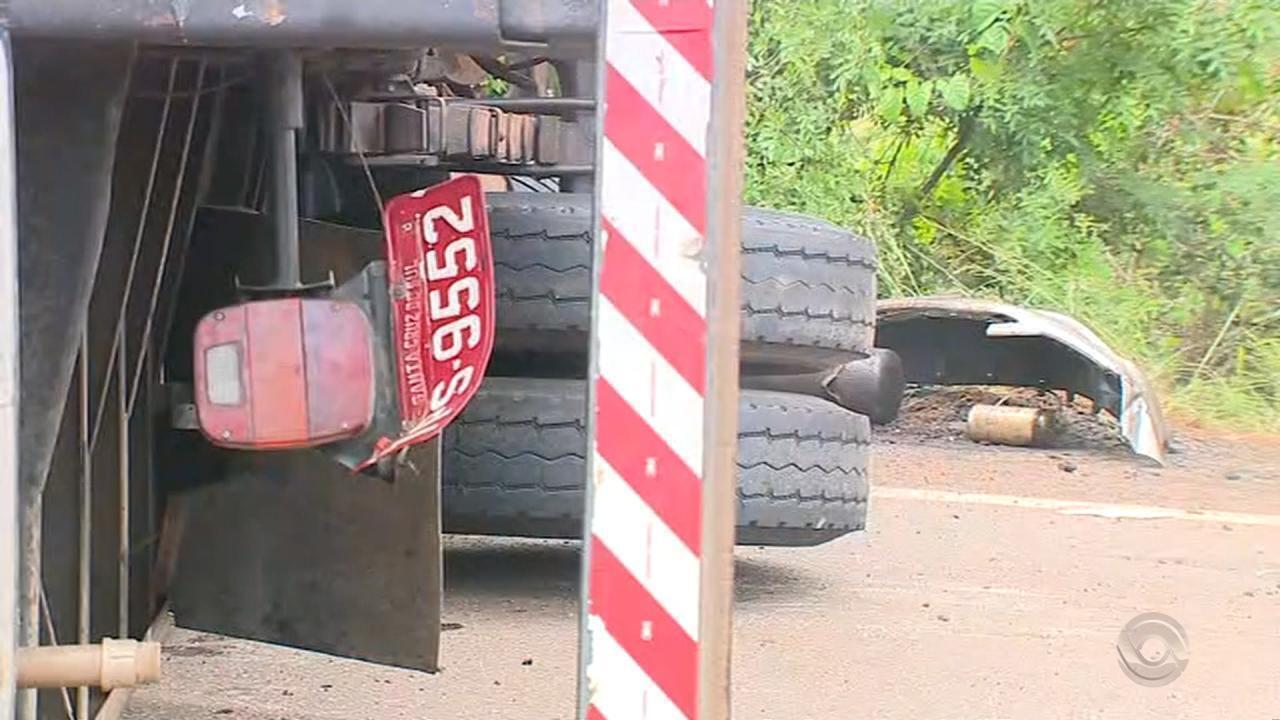 Três pessoas morrem em acidente em Eldorado do Sul