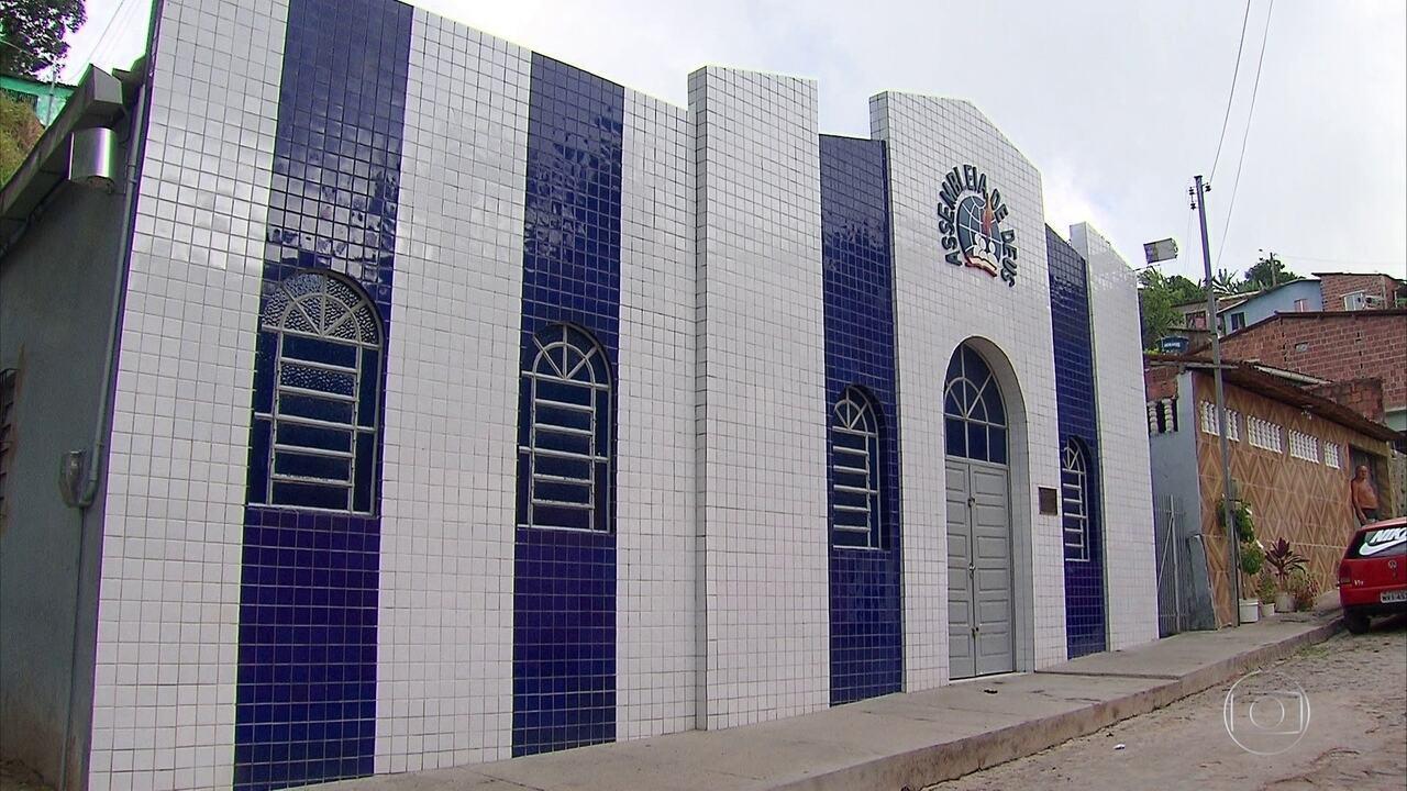 Homem é assassinado a tiros em igreja evangélica em Camaragibe