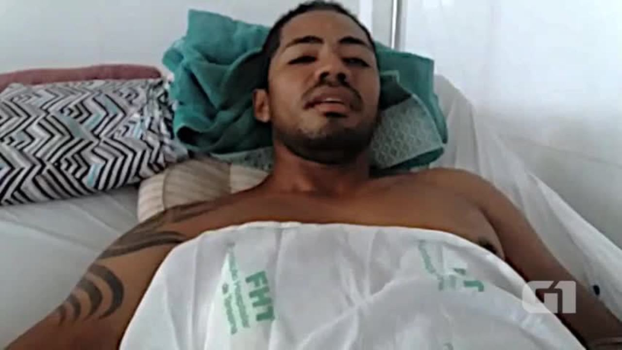 Vítima baleada na Banda Bandida fala como tudo aconteceu