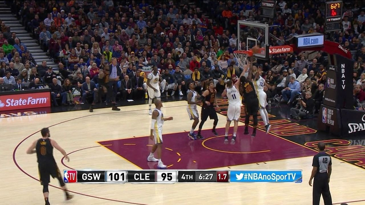Melhores momentos: Golden State Warriors 118 x 108 Cleveland Cavaliers pela NBA