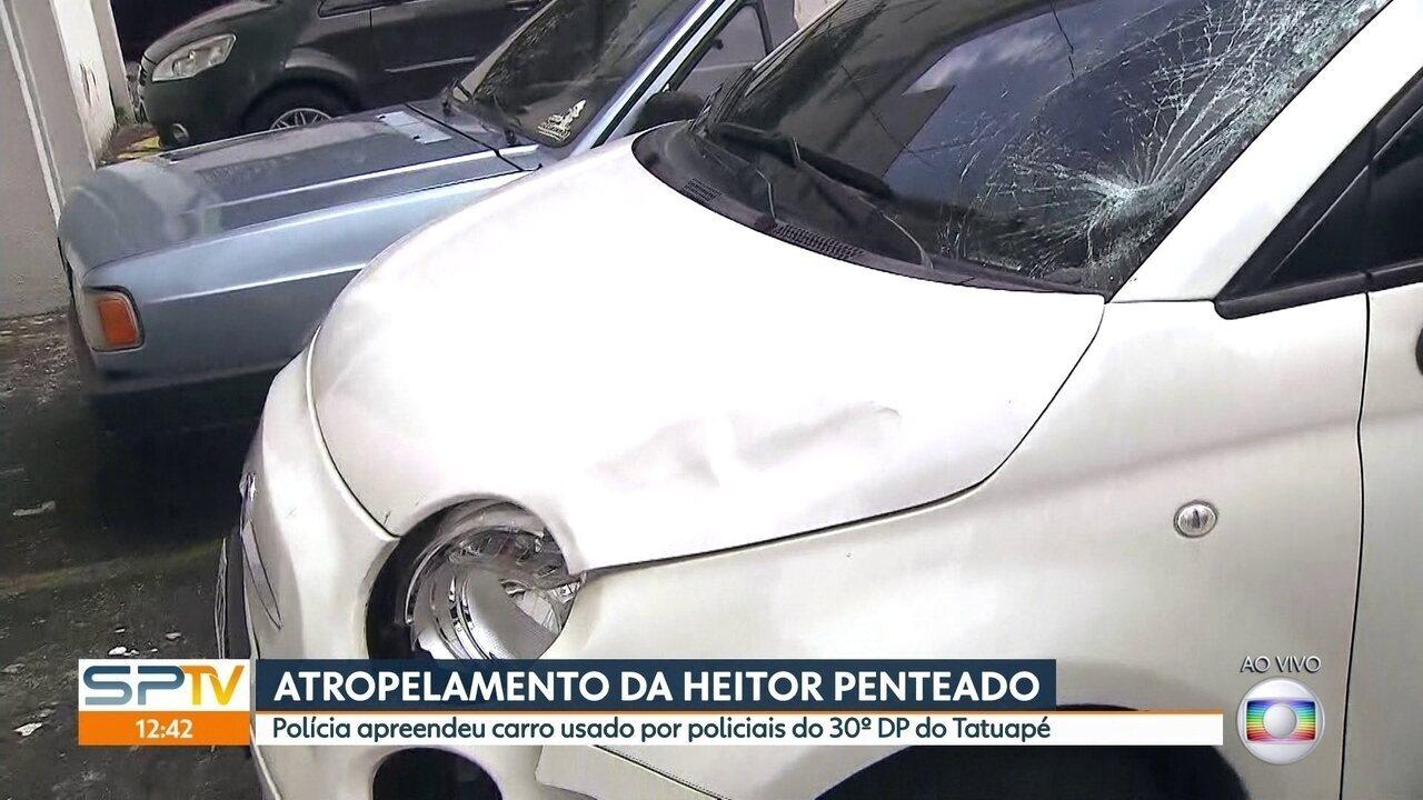 Polícia investiga se carro usado por policiais foi o que atropelou um idoso no domingo