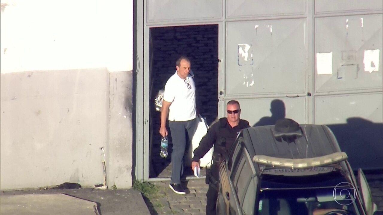 Ex-governador Sérgio Cabral é transferido para presídio federal no Paraná
