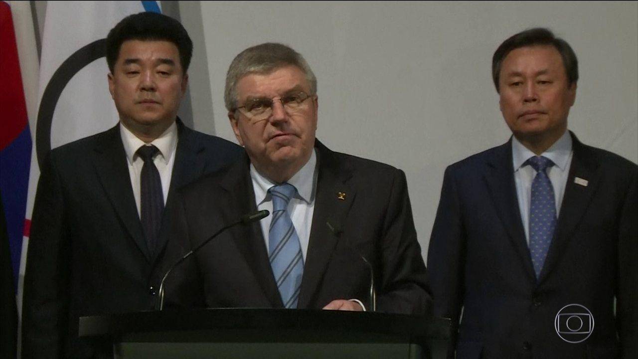 Pyongyang confirma visita de delegação à Coreia do Sul