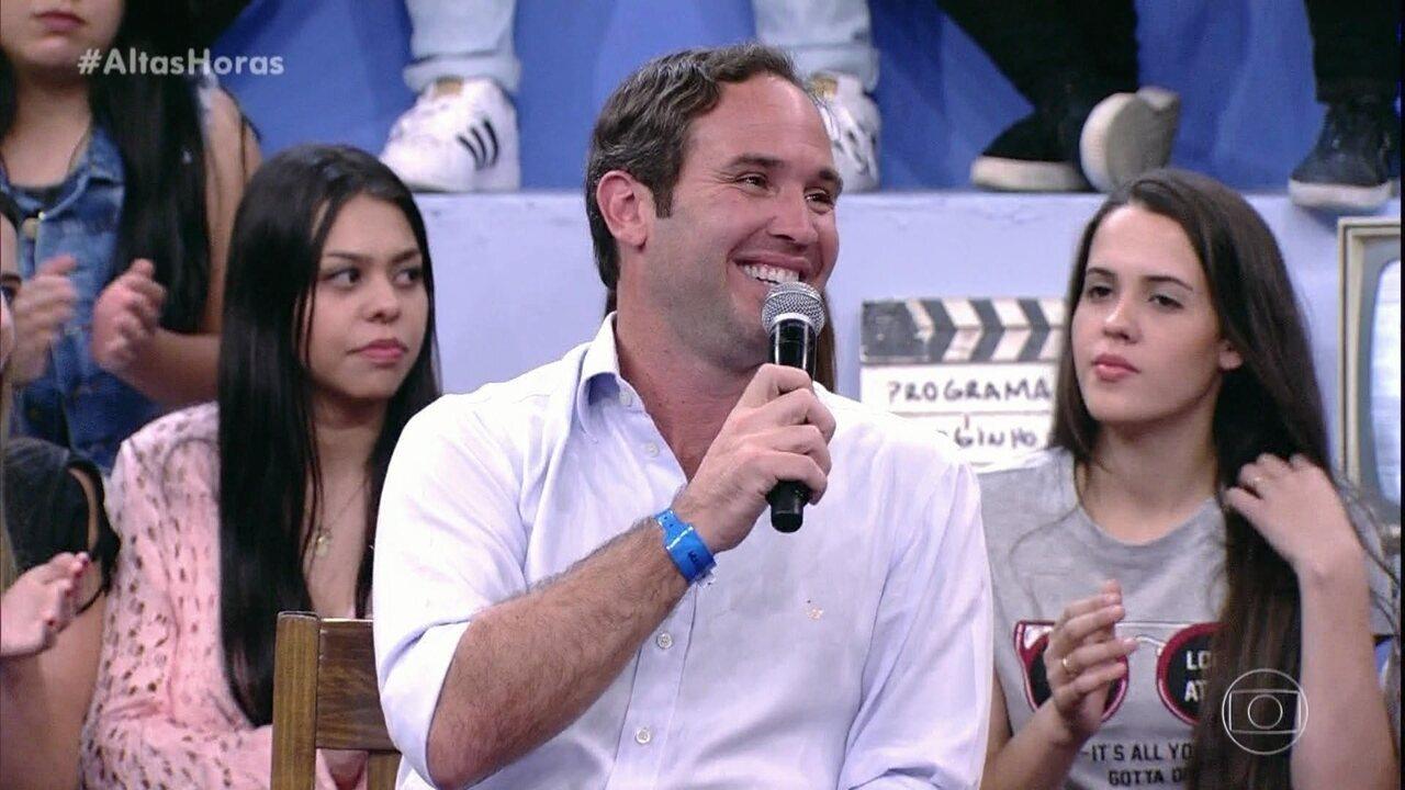 Caio Ribeiro relembra reportagem que fez na final da Libertadores