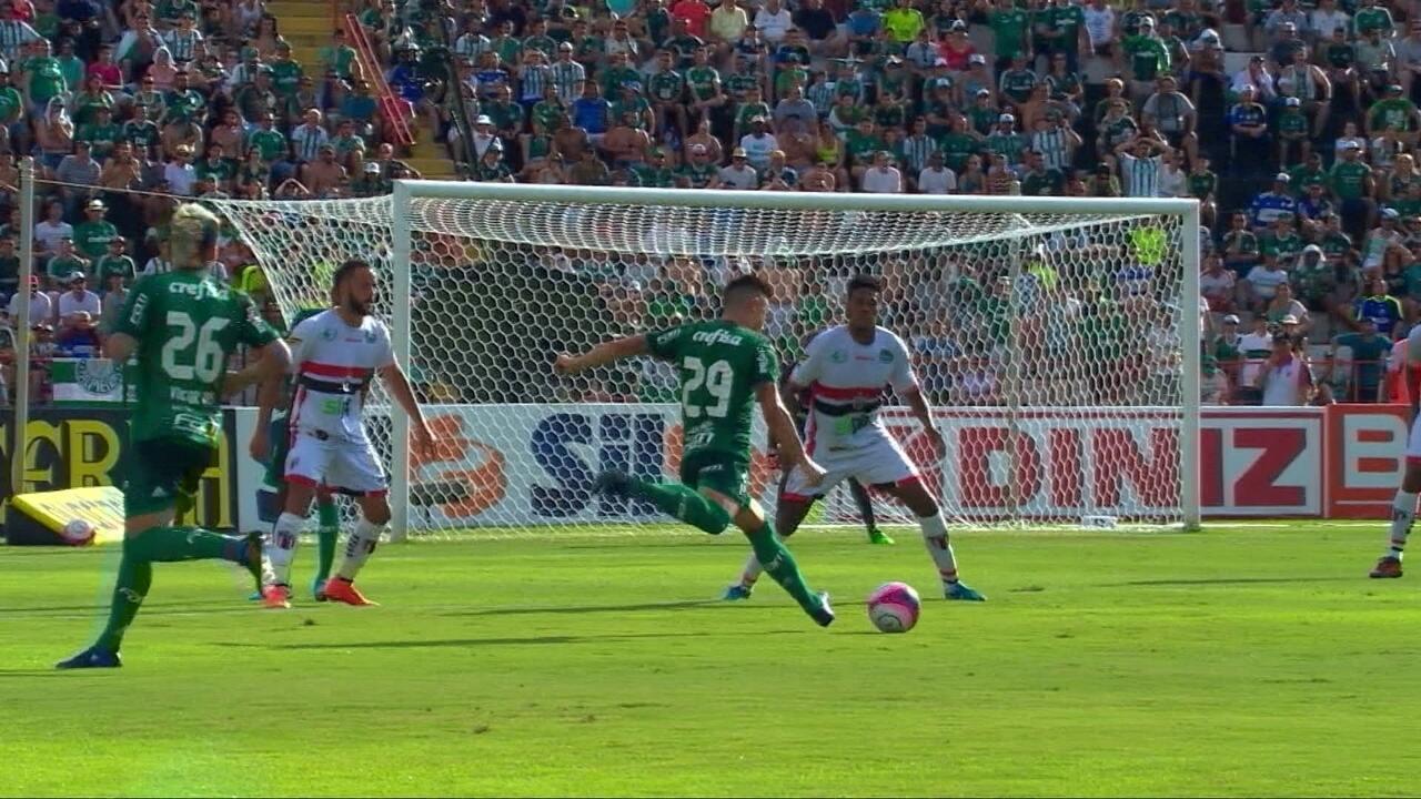 Melhores momentos de Botafogo-SP 0 x 1 Palmeiras pela 2ª rodada do Paulistão
