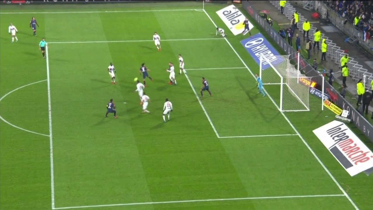 Melhores momentos de Lyon 2 x 1 PSG pela 22ª rodada do Campeonato Francês