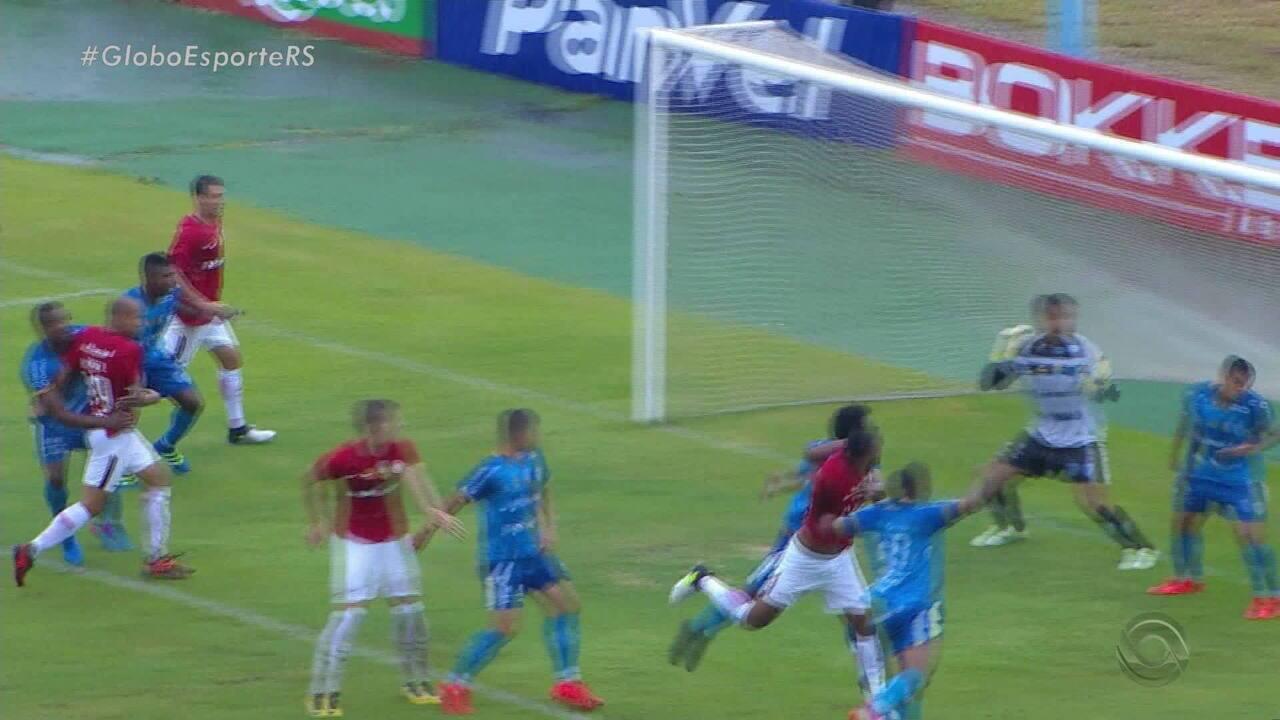 Veja como foi a vitória do Inter sobre o Novo Hamburgo