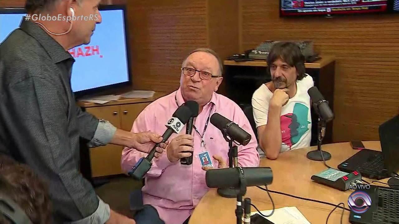 Globo Esporte Rs Programa Sala De Reda O Da Ga Cha Passa Por  -> Sala De Redacao Na Tv Ao Vivo