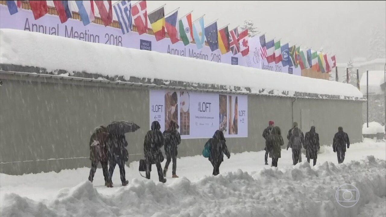 Temer viaja à Suíça para o Fórum Econômico Mundial