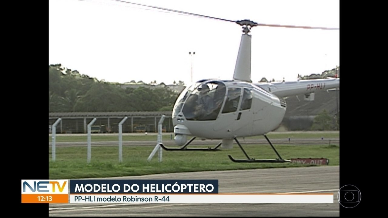 Globocop seguiria para a Zona Norte quando caiu na orla do Recife
