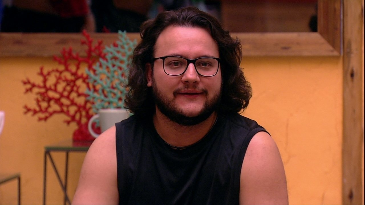 Diego se apresenta e revela: 'Vim pra cá colher histórias'