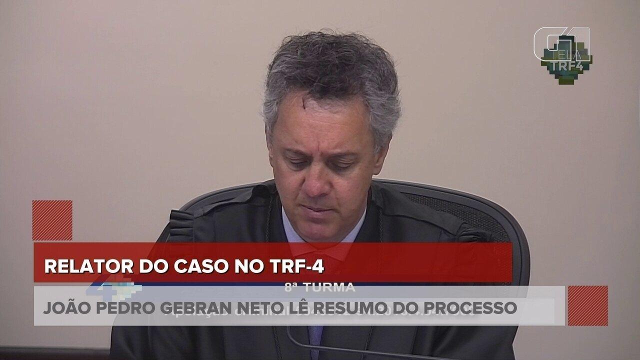 Desembargador descreve sentença dada a Lula na primeira instância