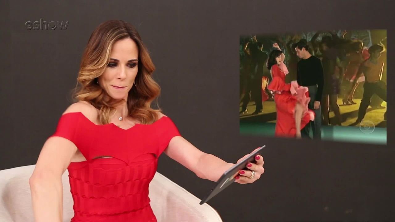 Ana Furtado relembra trabalho feito na abertura de 'Explode Coração'